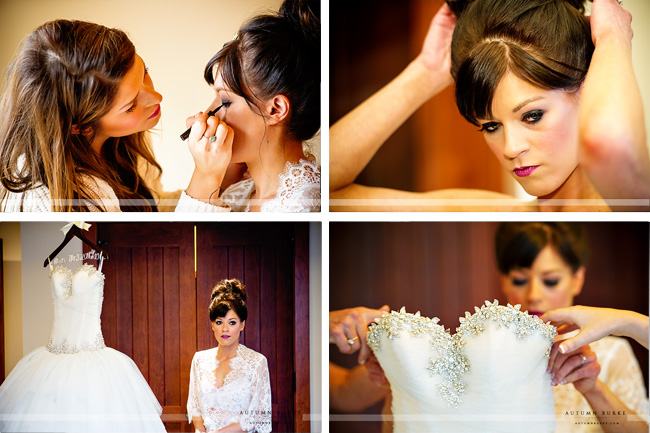 four seasons vail colorado wedding bride getting ready