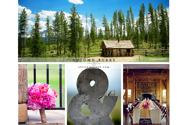 devils thumb ranch colorado mountain wedding details decor