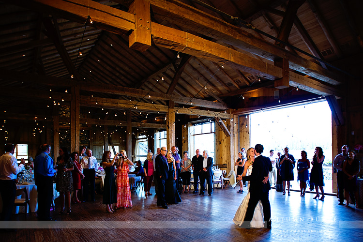 colorado barn wedding devils thumb ranch tabernash first dance reception