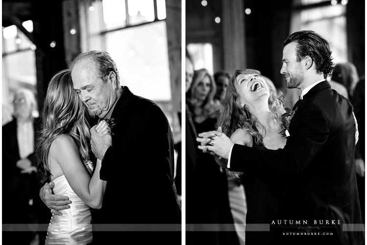 devils thumb ranch colorado mountain wedding father daughter dance mother son dance
