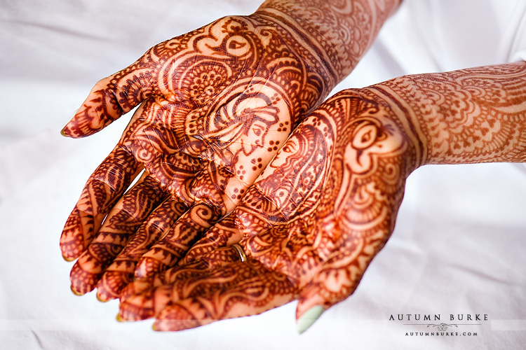 westin wedding colorado bride mehndi henna