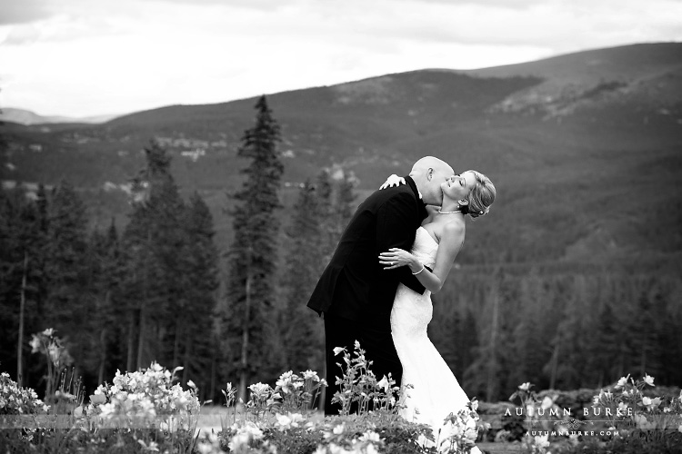 ten mile station breckenridge wedding colorado mountain bride and groom