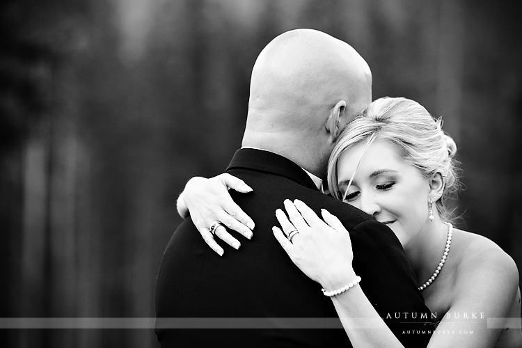 sweet emotional moment bride and groom ten mile station breckenridge colorado