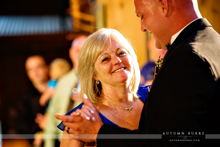 mother son dance ten mile station wedding breckenridge colorado