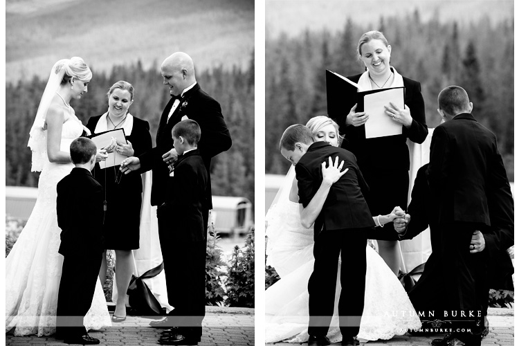 ten mile station wedding ceremony breckenridge colorado