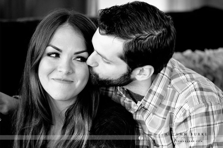 highlands ranch mansion wedding colorado engagement portrait session