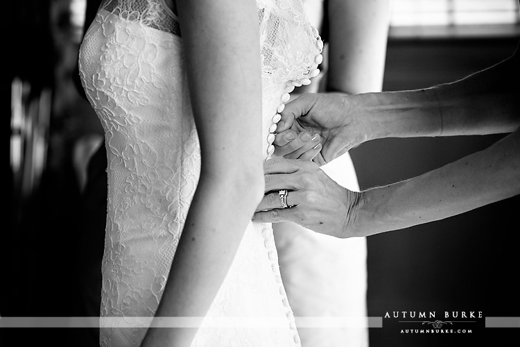 bridal prep getting ready denver country club colorado wedding