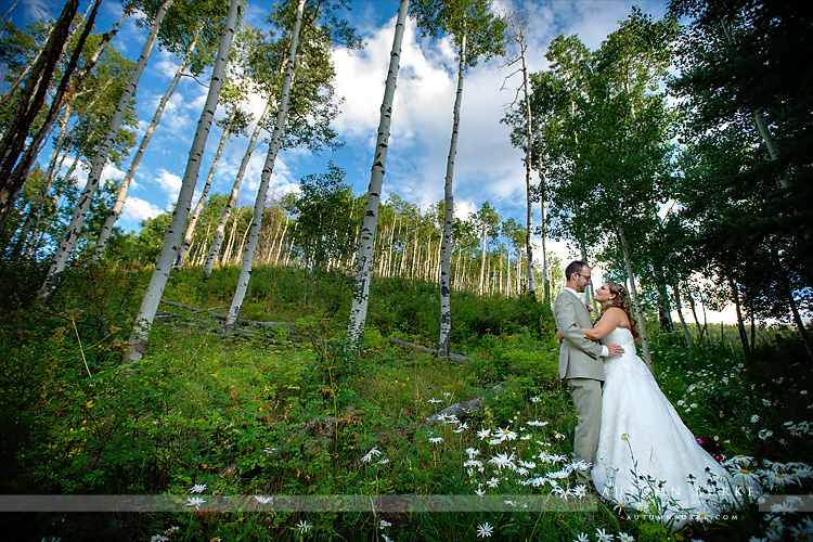 allies cabin wedding beaver creek colorado mountain aspen bride and groom