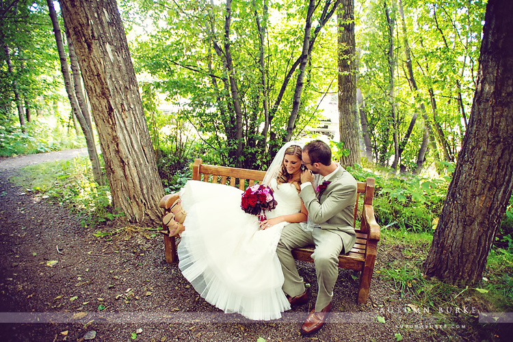 beaver creek mountain wedding chapel ceremony bride and groom