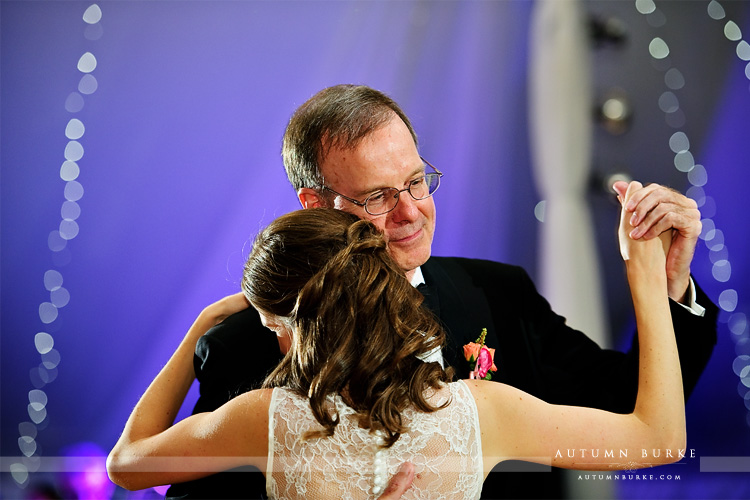 father daughter parent dance bride dad denver country club wedding
