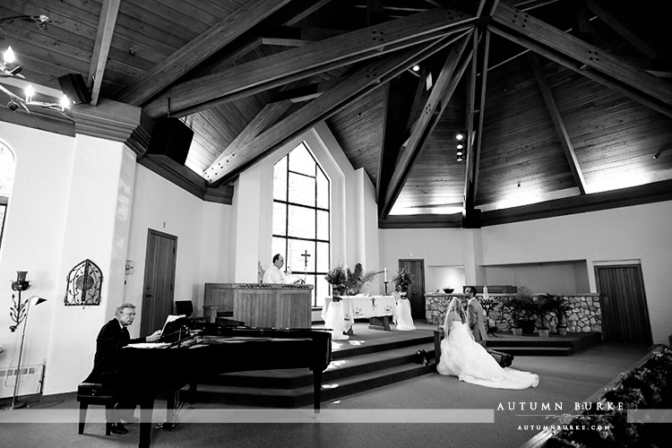 beaver creek wedding ceremony chapel catholic mass colorado