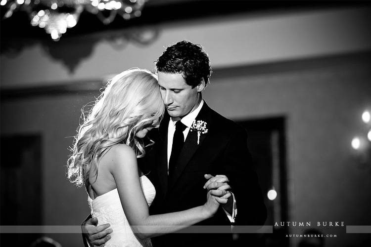 colorado mountain wedding at the arrabelle vail bride and groom first dance
