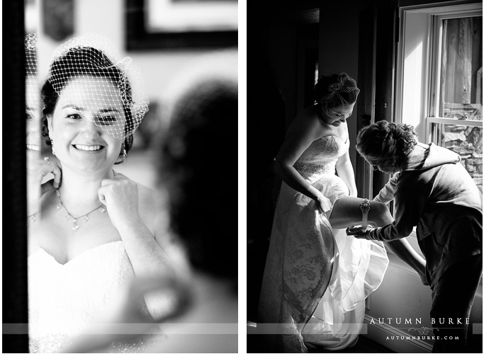 bridal prep spruce mountain guest ranch colorado wedding