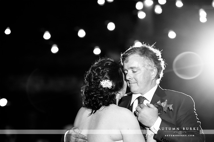 colorado wedding spruce mountain ranch reception first dance