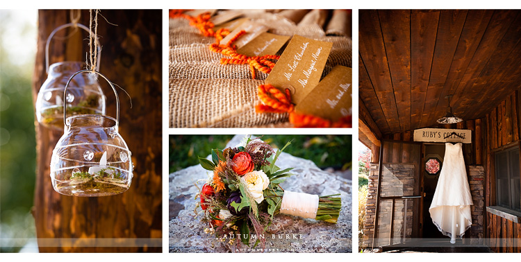 spruce mountain ranch wedding details colorado