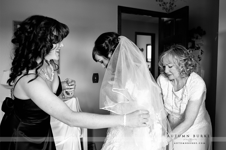 colorado bridal preparations getting ready