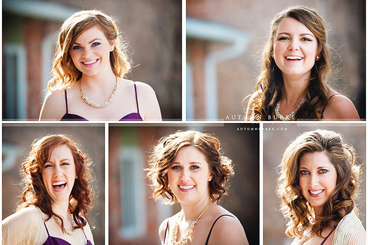 the sanctuary colorado wedding castle pines bridesmaids portraits