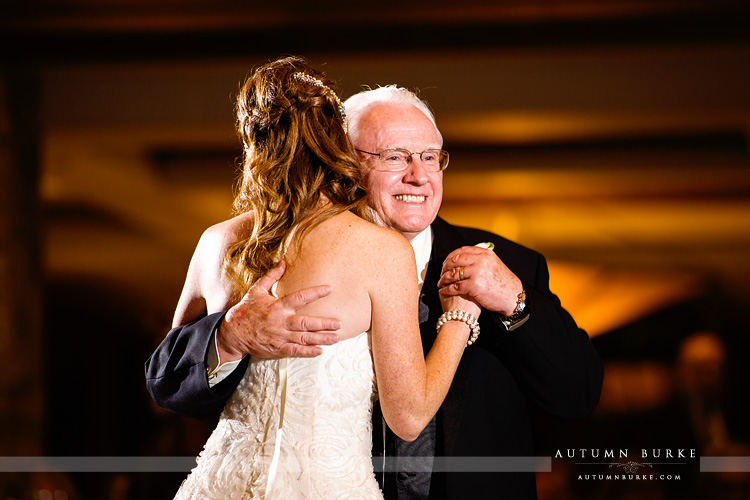 the sanctuary castle pines colorado wedding parent dances father daughter dance wedding