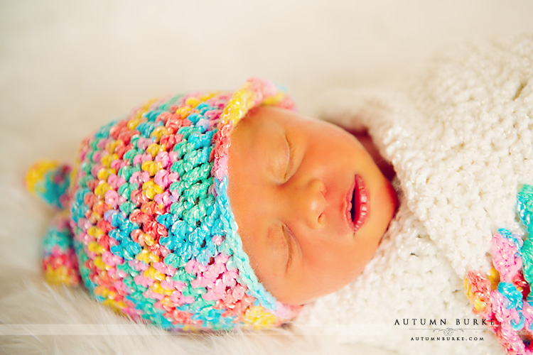 colorado family portrait photographer newborn baby girl