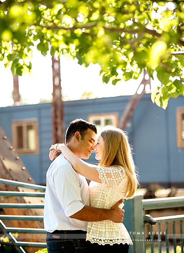 downtown denver colorado wedding engagement lodo