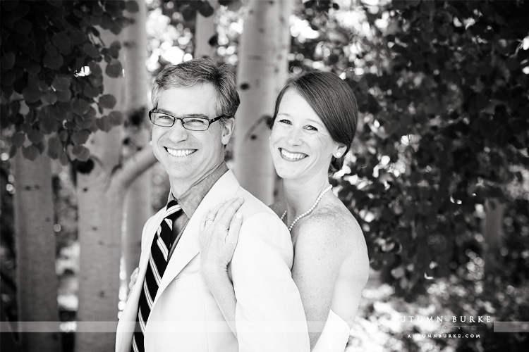 denver wedding botanic gardens colorado bride and groom portrait