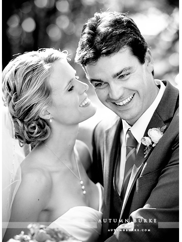 beaver creek chapel saddle ridge wedding colorado mountain bride and groom bw