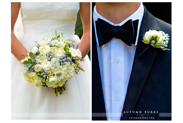colorado mountain wedding vail donovan pavilion floral boutiniere flowers bridal bouquet
