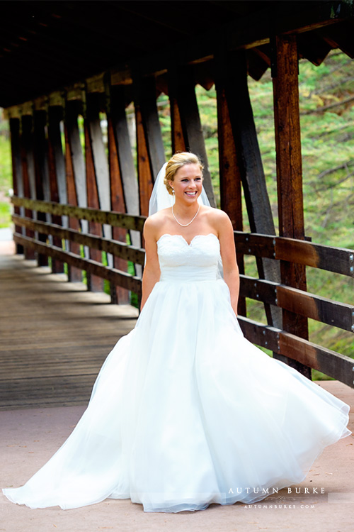 vail mountain bride donovan pavilion wedding bridge downtown vail