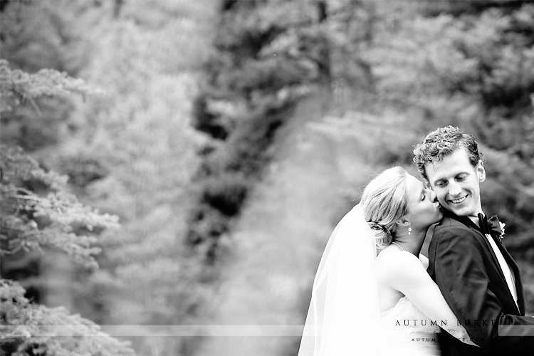 vail wedding donovan pavillion first look colorado mountain bw