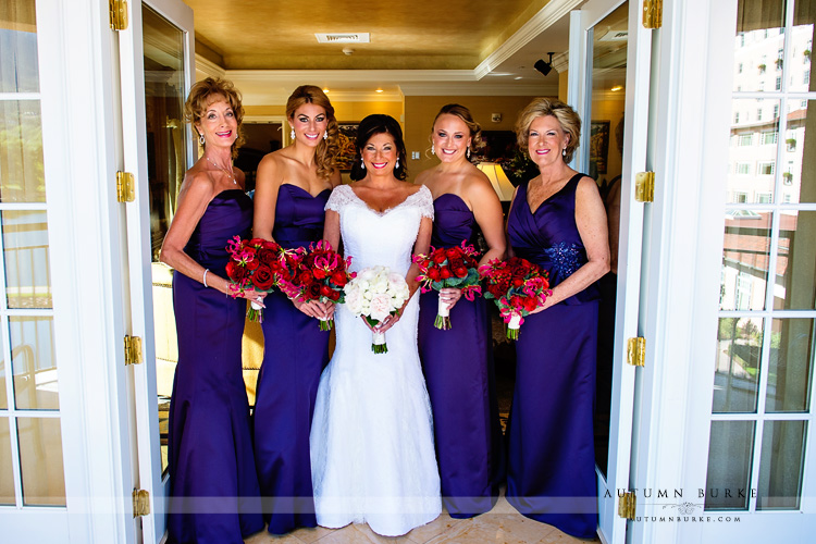 bride and bridesmaids colorado springs wedding the broadmoor
