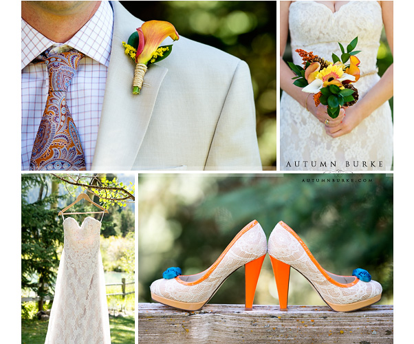 keystone colorado mountain wedding details ski tip lodge bouquet dress shoes boutinierre