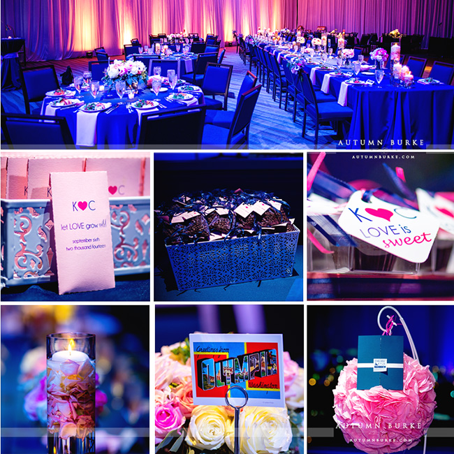 seawell ballroom wedding details decor guest book pinata wedding favors dcpa denver colorado