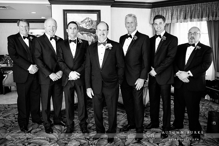 wedding the broadmoor colorado springs groom and groomsmen