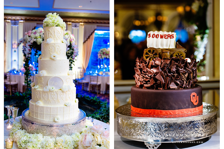 wedding the broadmoor colorado springs reception cakes grooms cake with college theme
