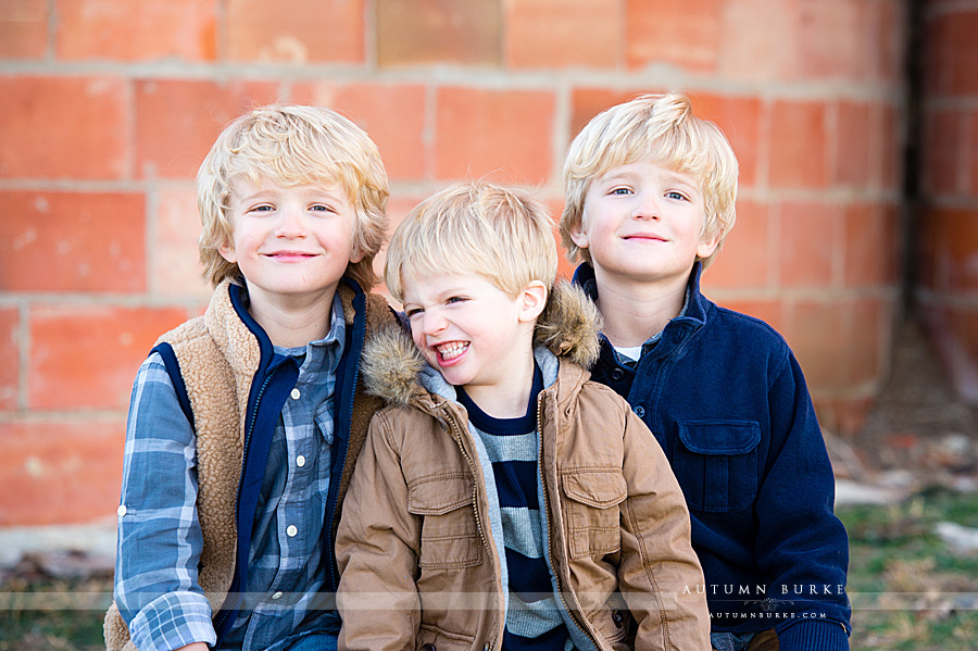 colorado family photography brothers twin highlands ranch mansion