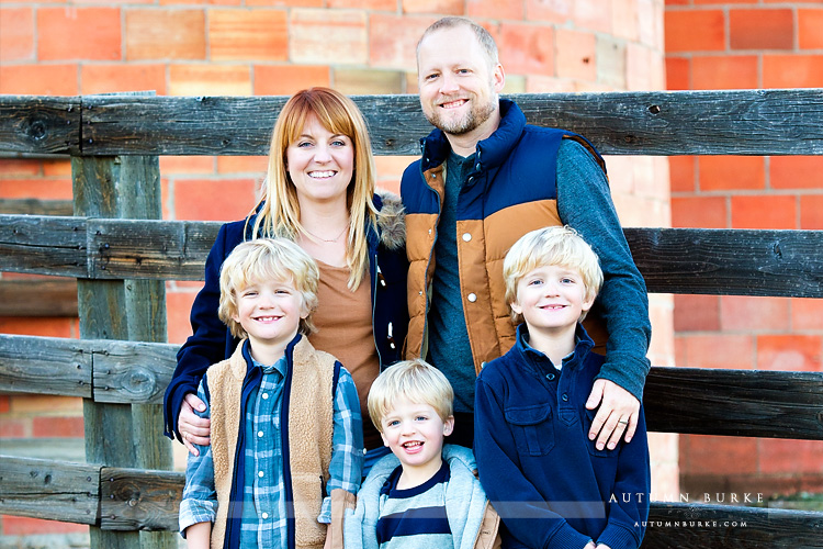 colorado family portrait kids parents boys highlands ranch mansion lifestyle photography holiday family