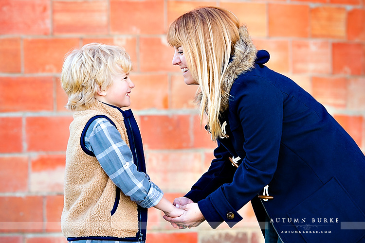 colorado portrait family mom and son highlands ranch mansion lifestyle portraiture
