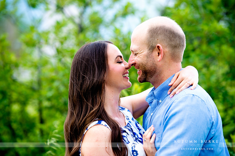 colorado engagement session denver mountains