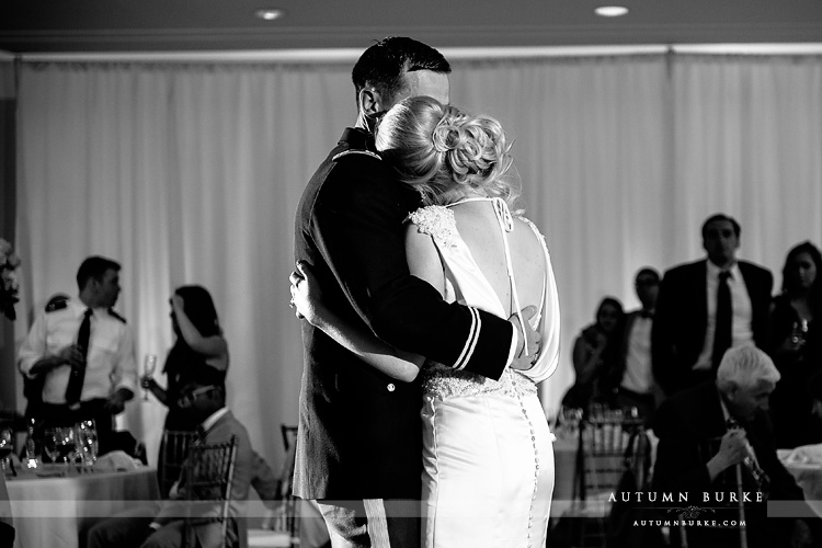 colorado mountain wedding beaver creek westin first dance romantic