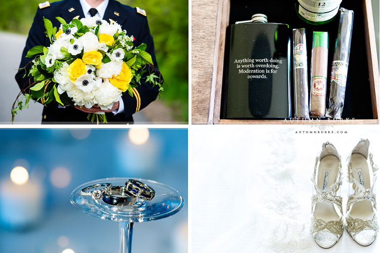 details westin wedding beaver creek colorado bouquet flask shoes oscar de la renta