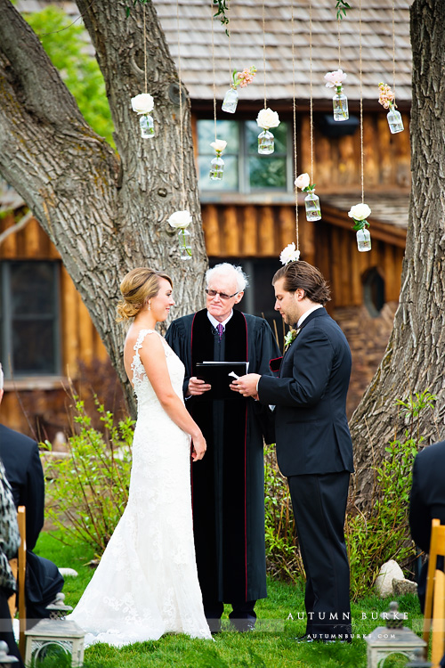 wedding vows spruce mountain ranch ceremony graces chapel larkspur colorado
