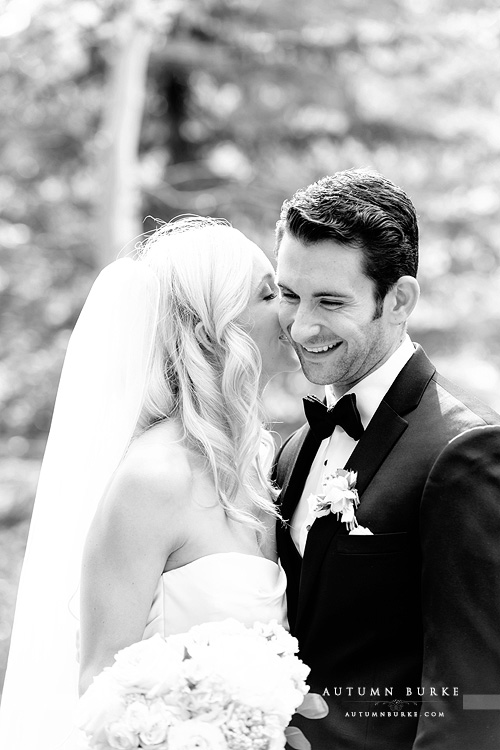 bride and groom vail colorado mountain wedding four seasons
