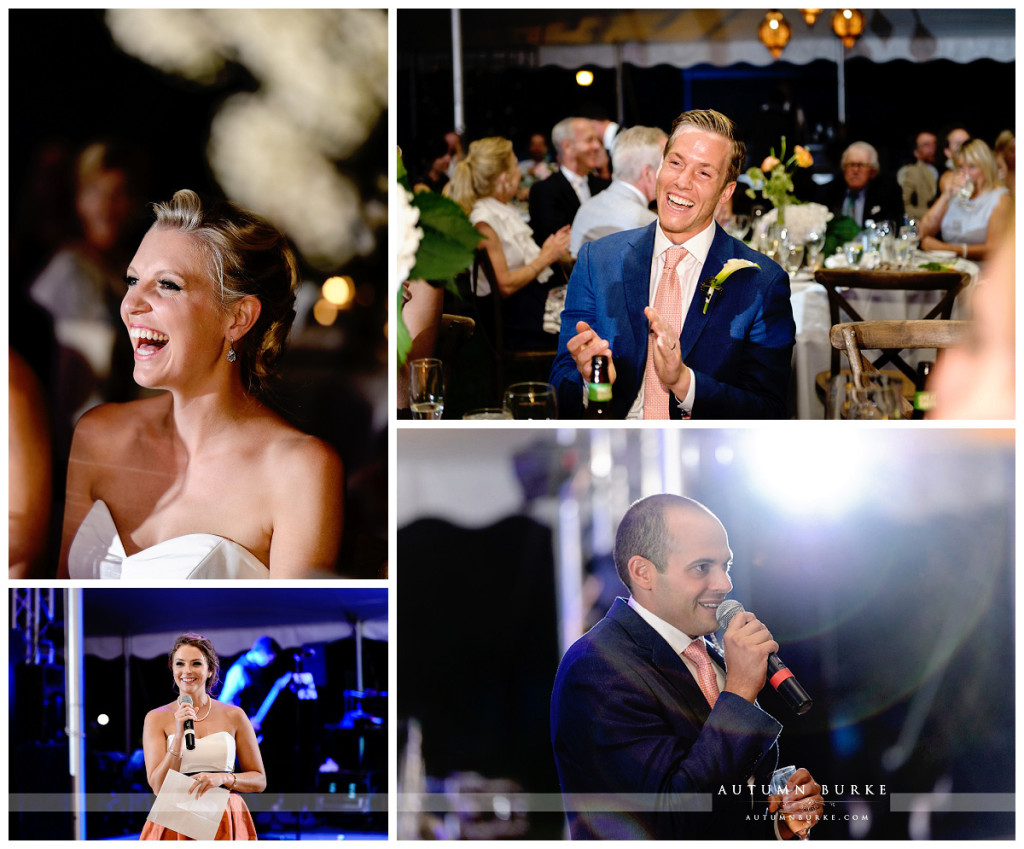 wedding reception toasts best man maid of honor denver colorado wedding