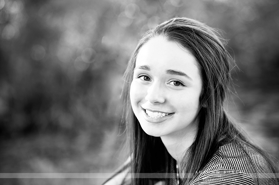 denver colorado high school senior portrait session black and white