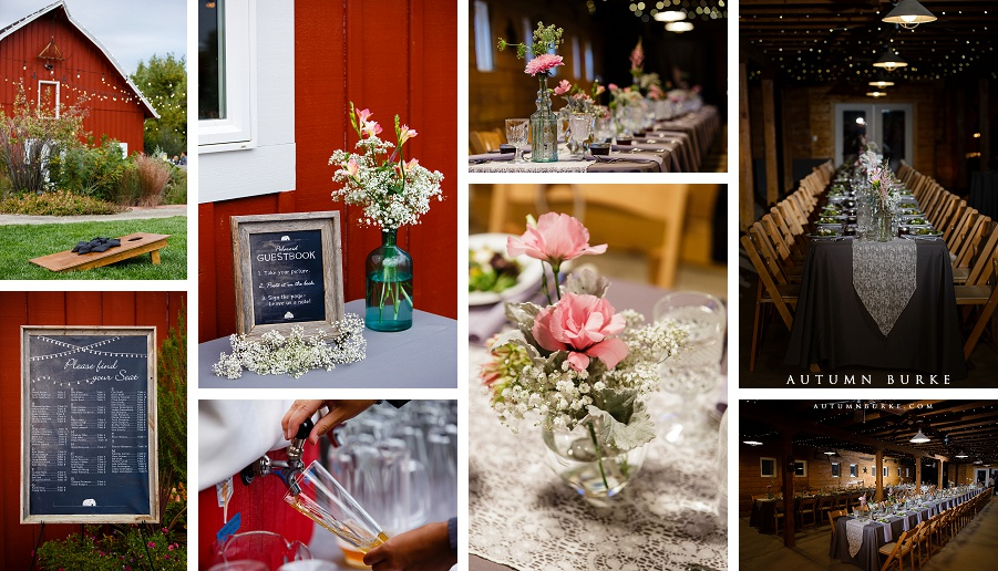 colorado wedding details denver botanic gardens at chatfield barn rustic elegance