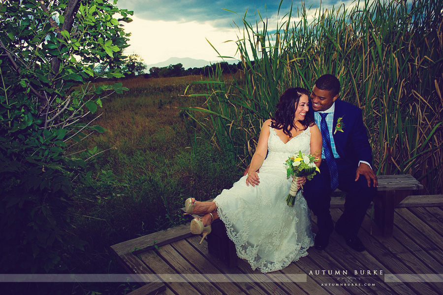 denver colorado wedding bride and groom portraits outdoors nature