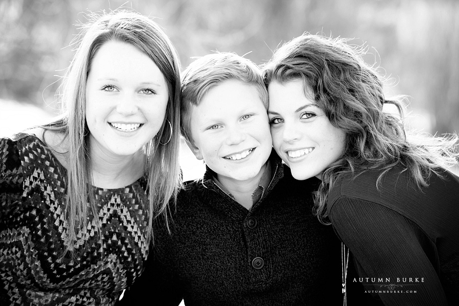 childrens family portrait session colorado