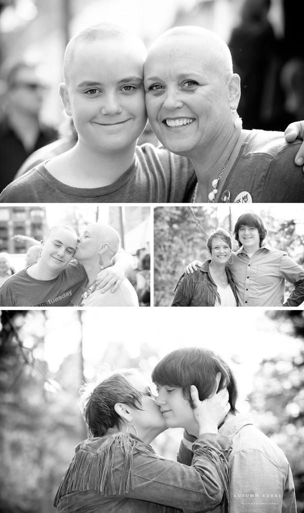 denver colorado st baldricks event photography mother and son portrait
