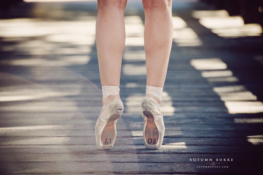 high school senior colorado ballet pointe photography session