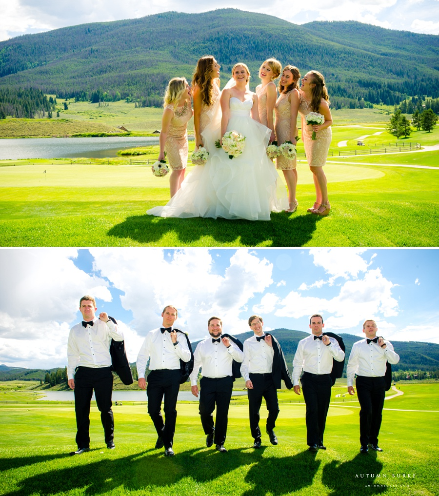 wedding party bridesmaids groomsmen keystone ranch